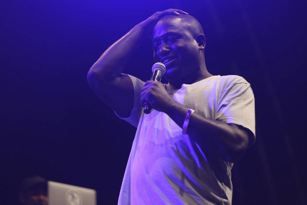 Hannibal Buress performs at the FYF Fest on Friday, July 22, 2017, in Los Angeles. (Photo by Willy Sanjuan/Invision/AP)