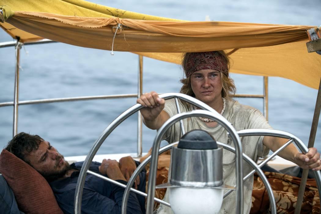 Sam Claflin and Shailene Woodley star in ADRIFT Courtesy of STXfilms