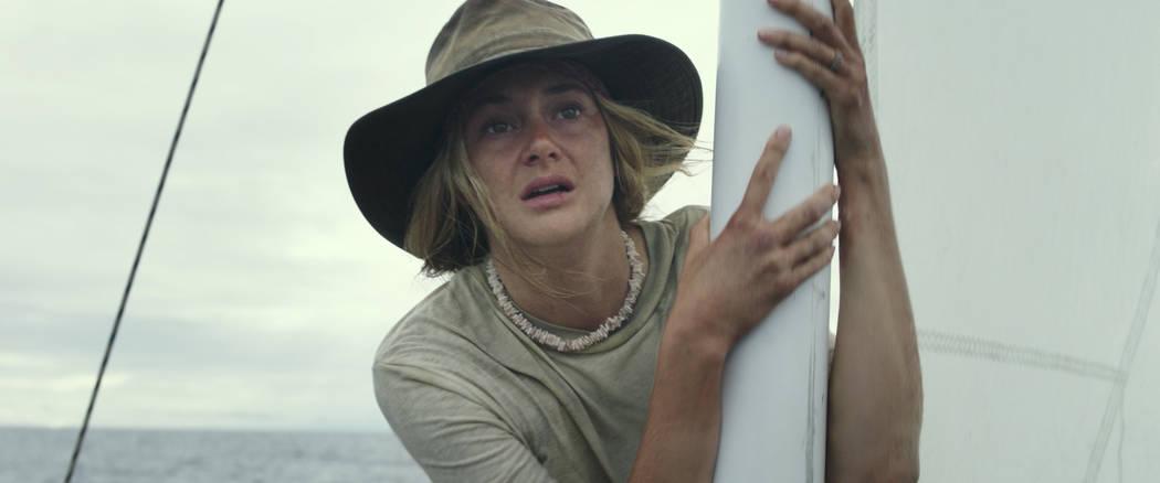 Shailene Woodley stars in ADRIFT Courtesy of STXfilms