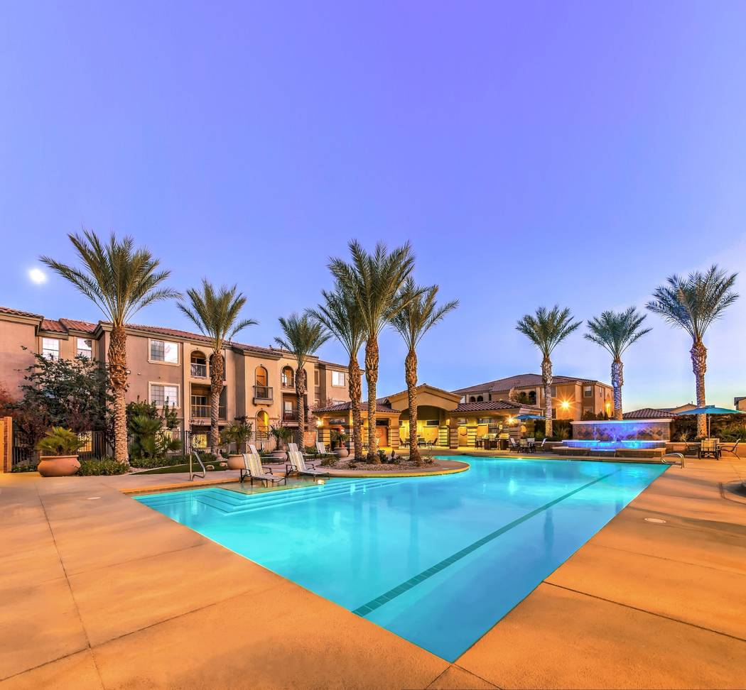 RK Properties acquired Montecito Pointe, a 336-unit apartment complex in northwest Las Vegas, for $59.25 million. (Jones Lang LaSalle)