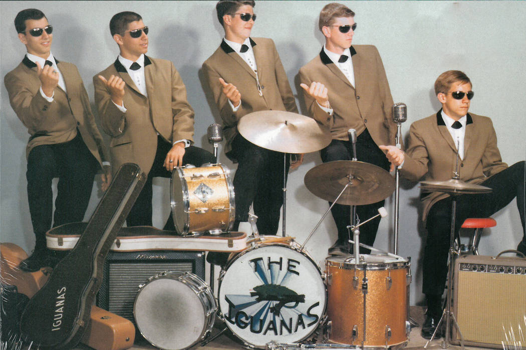 Then known as Jim Osterberg, Iggy Pop played drums in his first band, The Iguanas. (Jim McLaughlin)