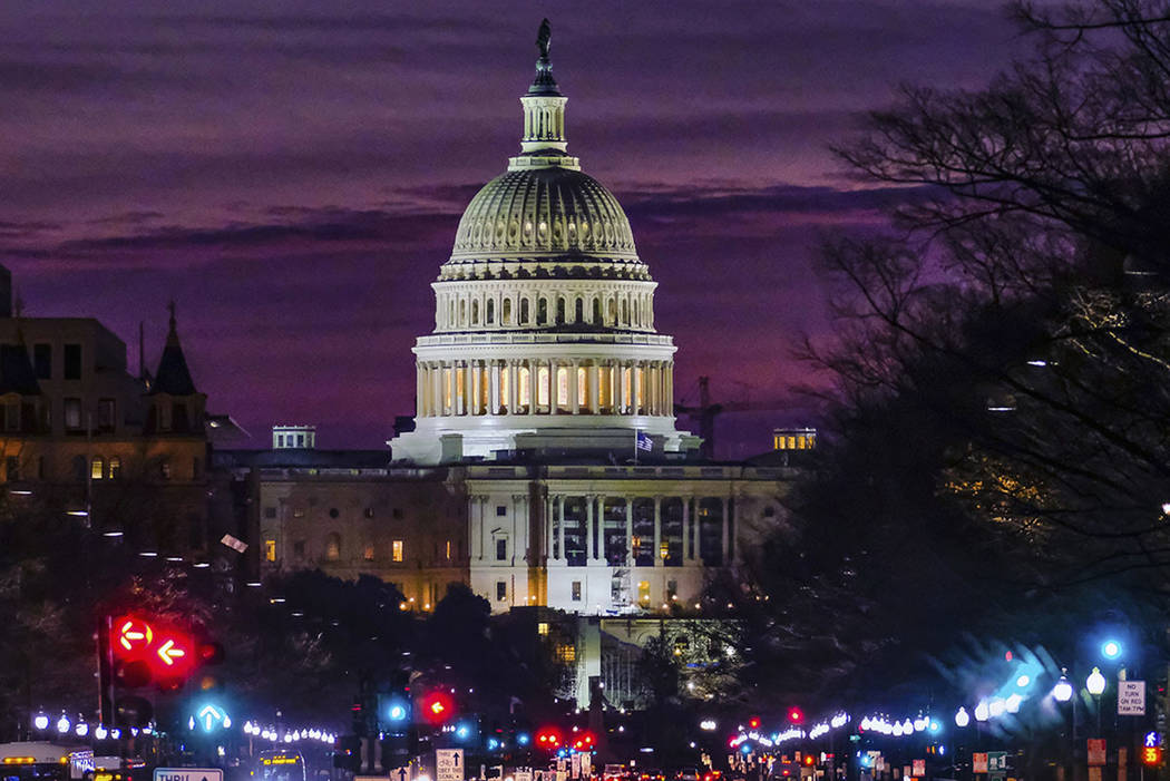 The U.S. Capitol in Washington. AP Photo/J. David Ake)