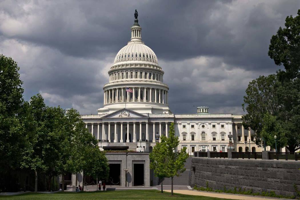 The U.S. Capitol is seen in Washington (AP Photo/J. Scott Applewhite)