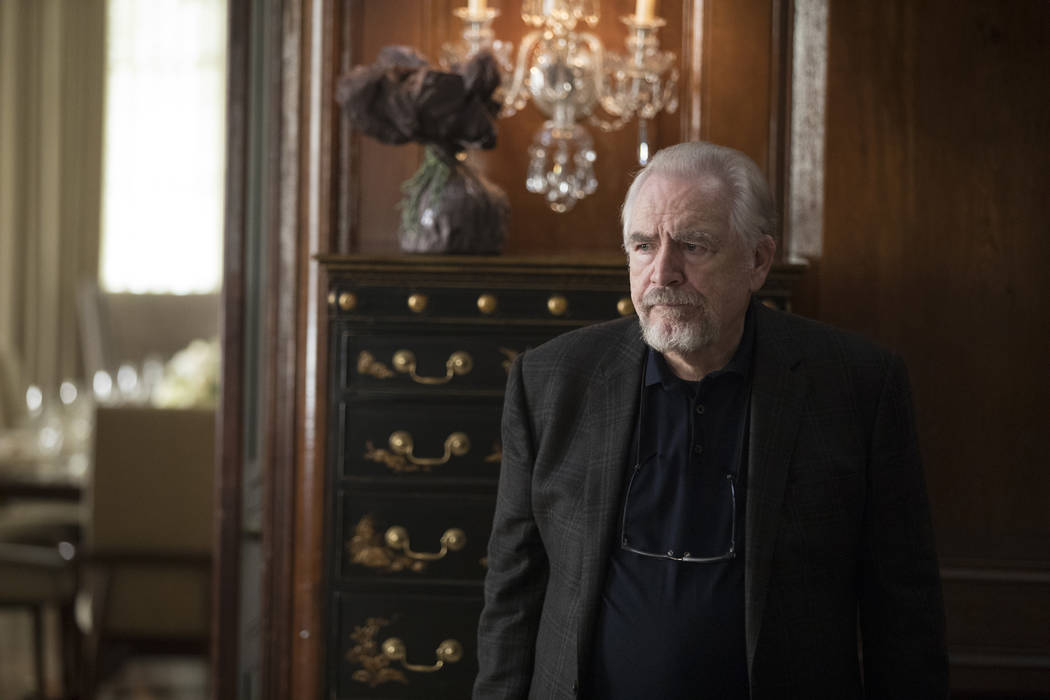 "Brian Cox stars in HBO's ""Succession."" photo: Craig Blankenhorn/HBO"