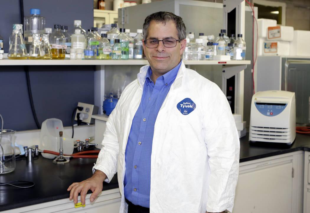 Dr. Martin Schiller is executive director for Nevada Institute of Personalized Medicine at UNLV. (Bizuayehu Tesfaye/Las Vegas Review-Journal) @bizutesfaye