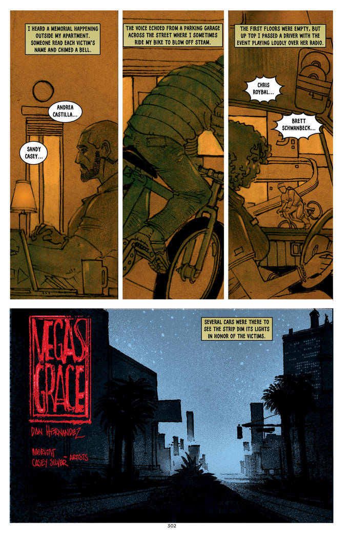 "A page from ""Where We Live"" features a story by Daniel Hernandez."