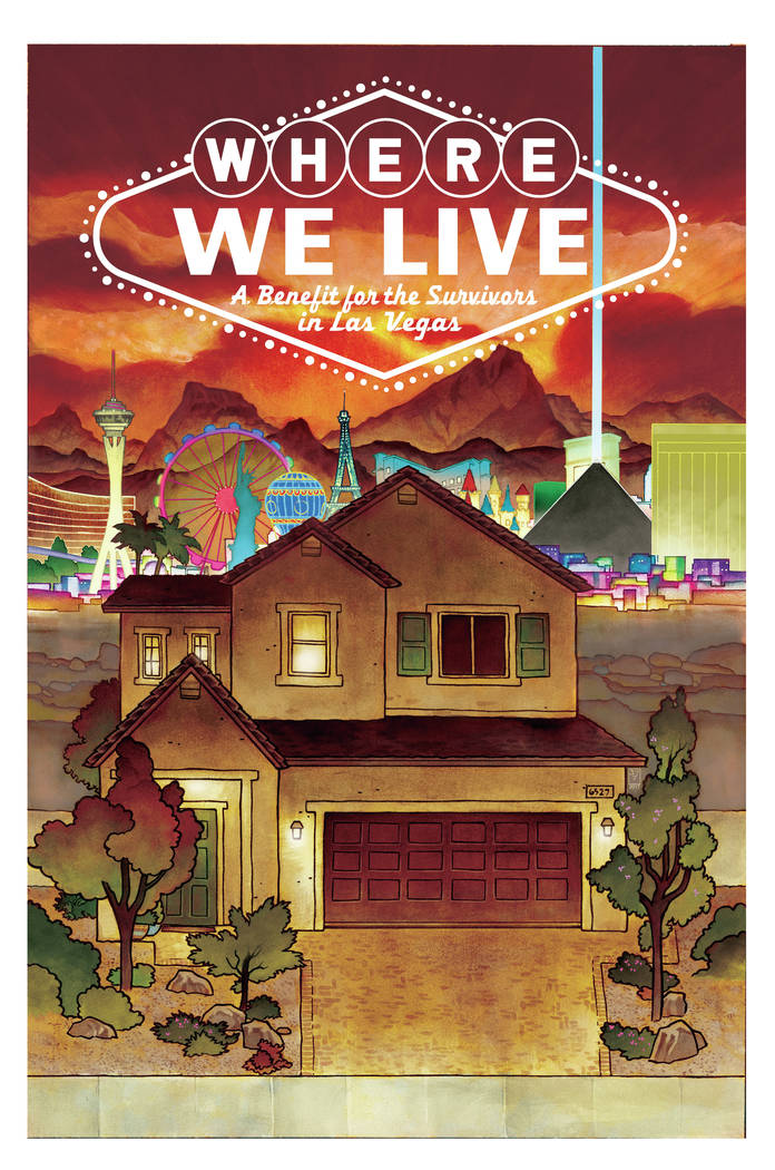 "The cover of ""Where We Live""' was created by J.H. Williams III."