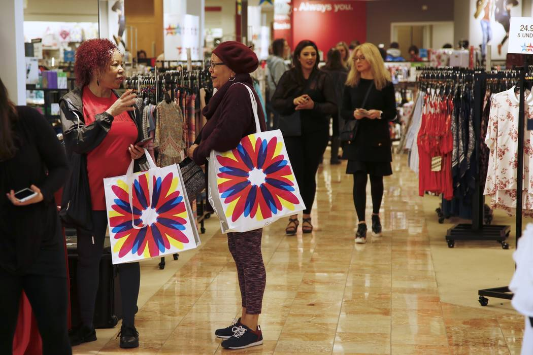 Macy's Backstage Grand Opening at Lloyd Center on Saturday, April 14, 2018 in Portland, Ore. (Steve Dipaola/AP Images for Macy's)