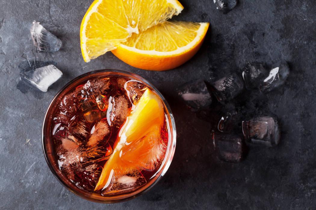 Negroni cocktail. Thinkstock