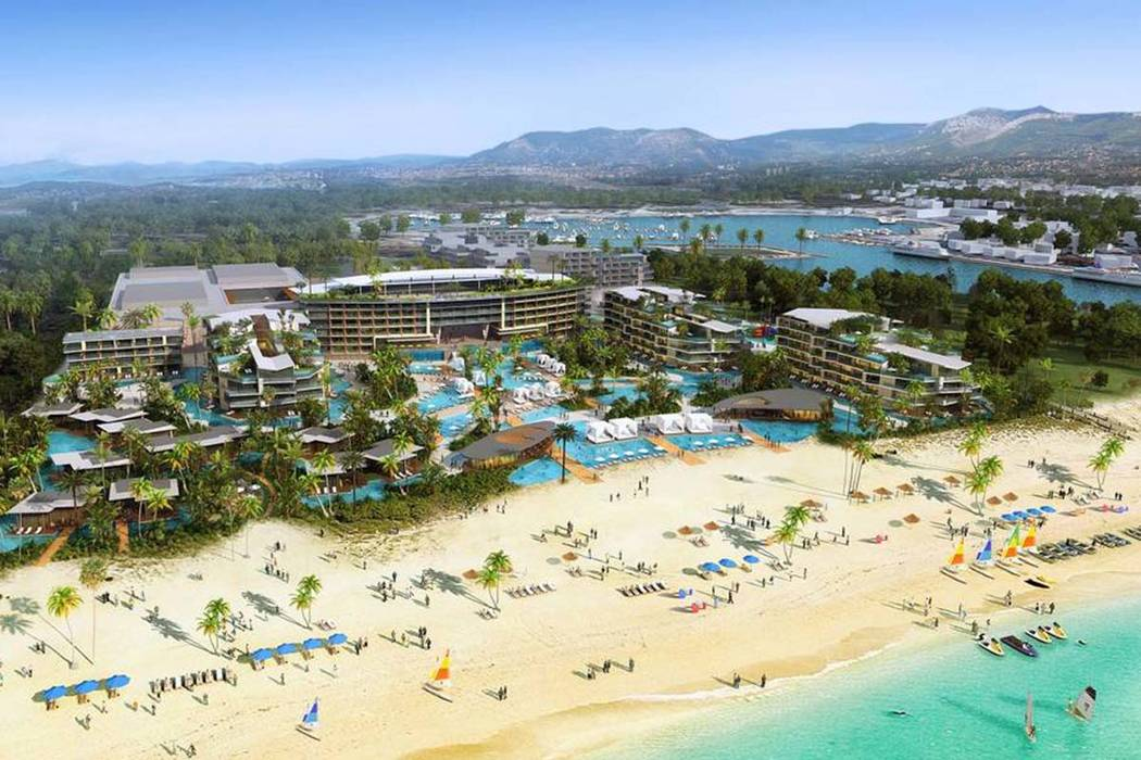 Caesars Entertainment Corporation announced plans to bring a non-gaming Caesars Palace resort to beach-front property along the coast of Puerto Los Cabos, Mexico. (Caesars Entertainment)