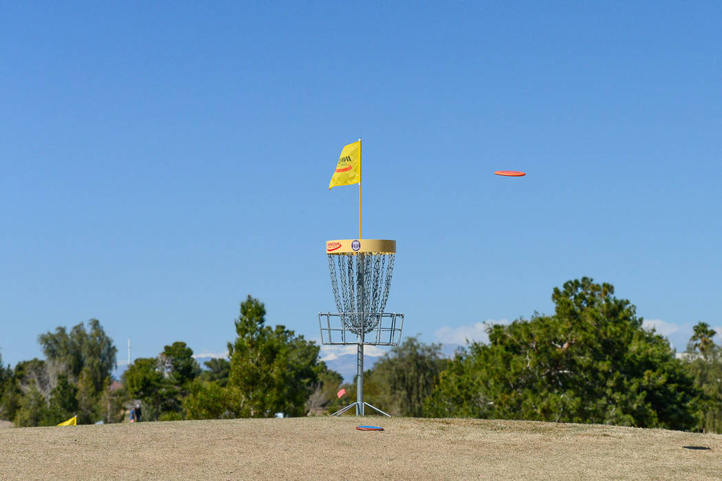 Disc golf is one of several variations of the sport, which includes FootGolf, archery golf and Topgolf. Courtesy Wildhorse.