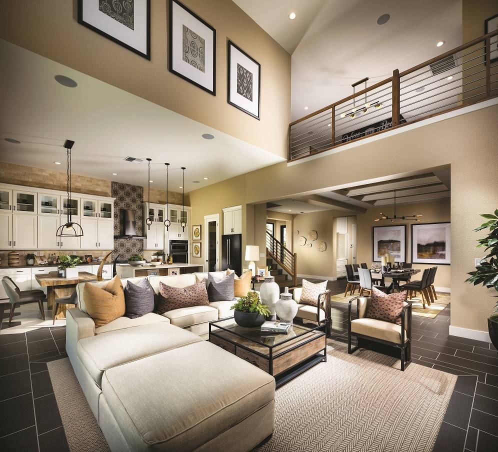 Toll Brothers Shadow Point offers single-story living with loft options.