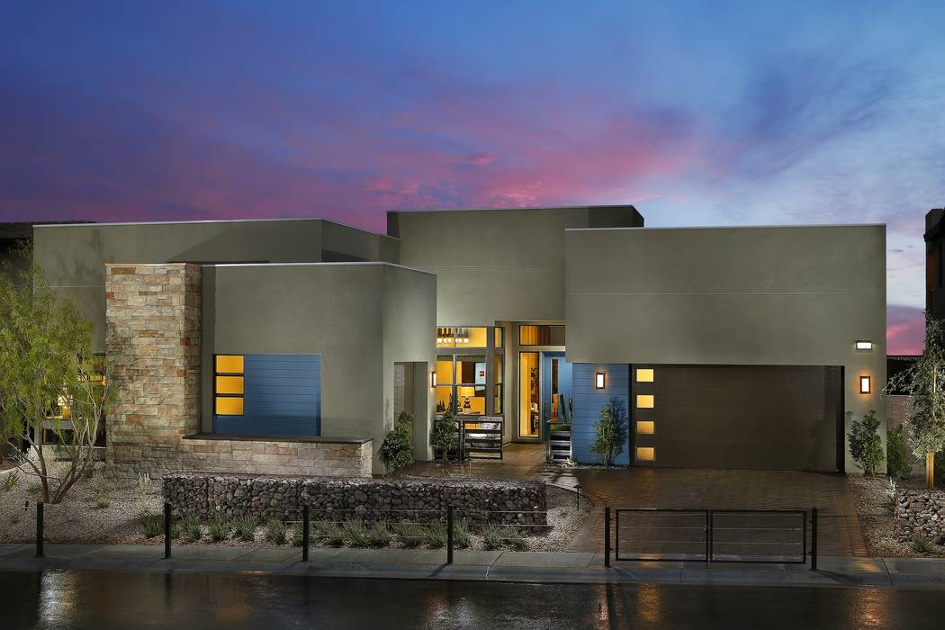 Pardee Homes Nova Ridge by Pardee Homes in The Cliffs village is one of several neighborhoods in Summerlin with homes ready for immediate move-in, including Plan 1B which spans 3,172-square-feet o ...