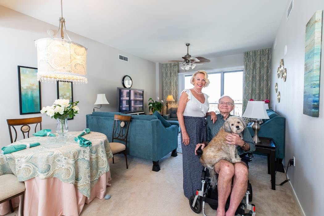 Mona Shield Payne Lee and Diana Lewis visited Las Vegas last October and loved the city so much, they began exploring homes. They found their dream home in the sky at One Las Vegas, which offers s ...
