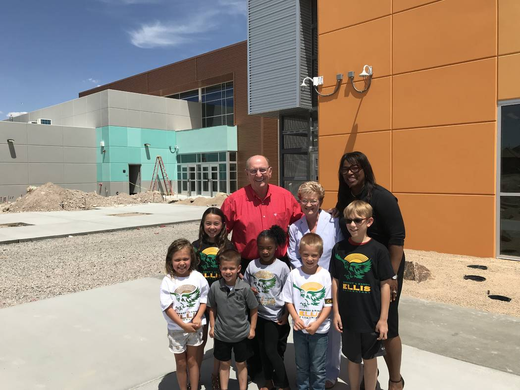 Inspirada Dr. Shaun Cochran-Hall is excited about the inaugural school year of Robert and Sandy Ellis Elementary School, which will welcome nearly 600 students in grades pre-kindergarten through f ...