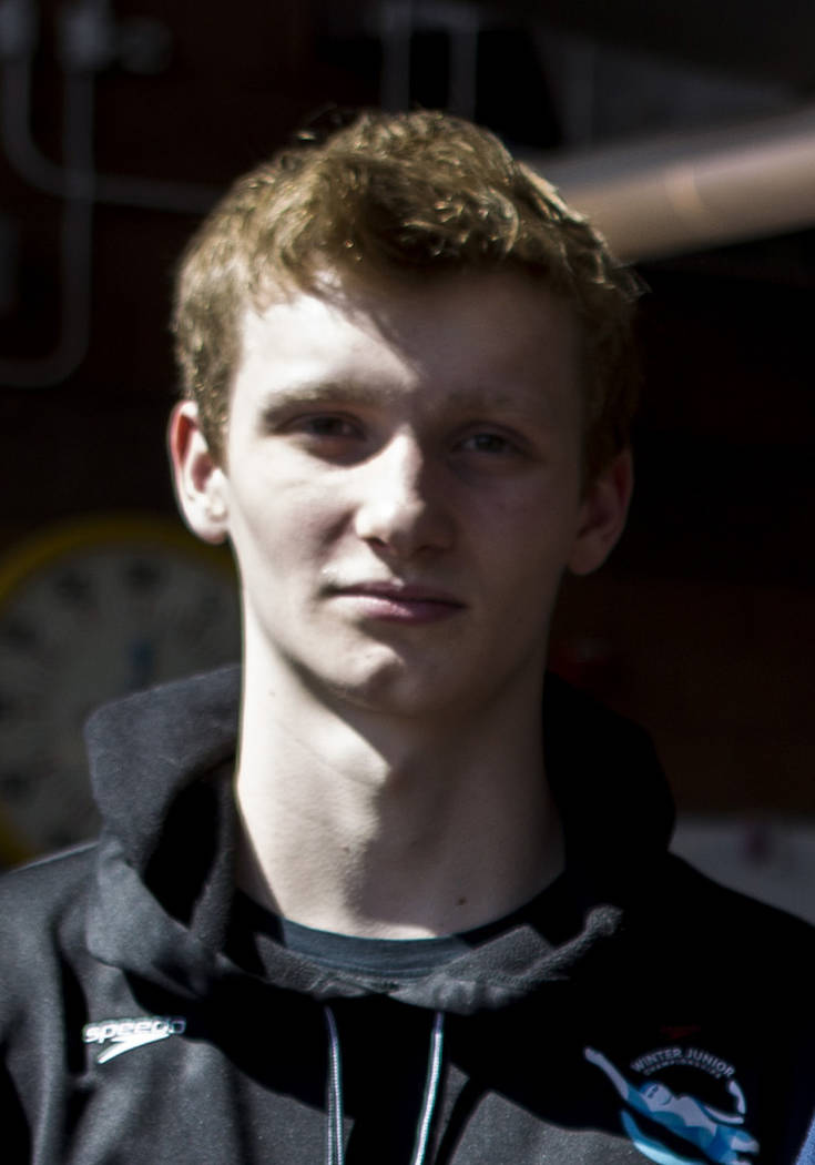 Legacy's McKay Mickelson is a member of the Las Vegas Review-Journal's all-state boys swimming team.