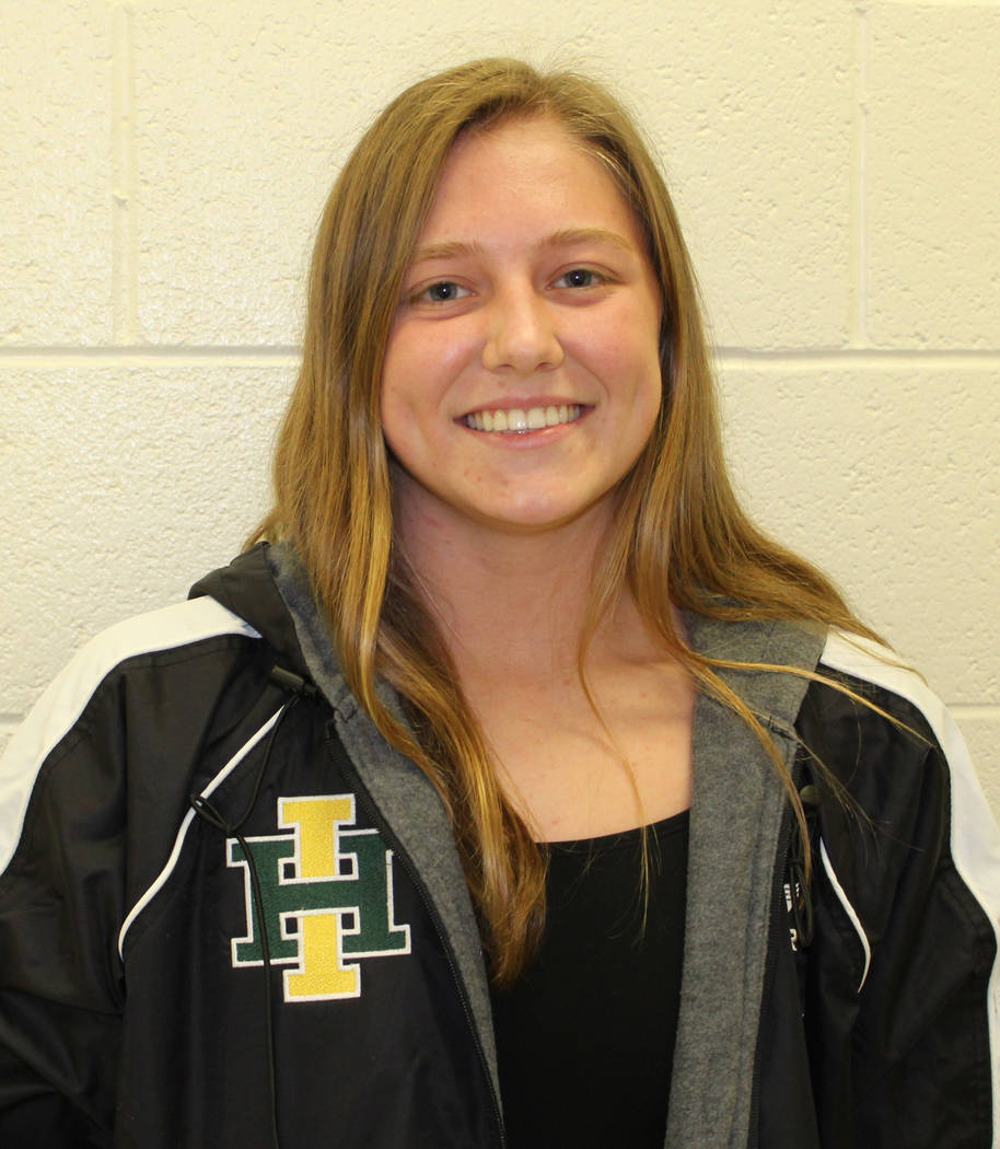 Incline's Kate Rye is a member of the Las Vegas Review-Journal's all-state girls swimming team.