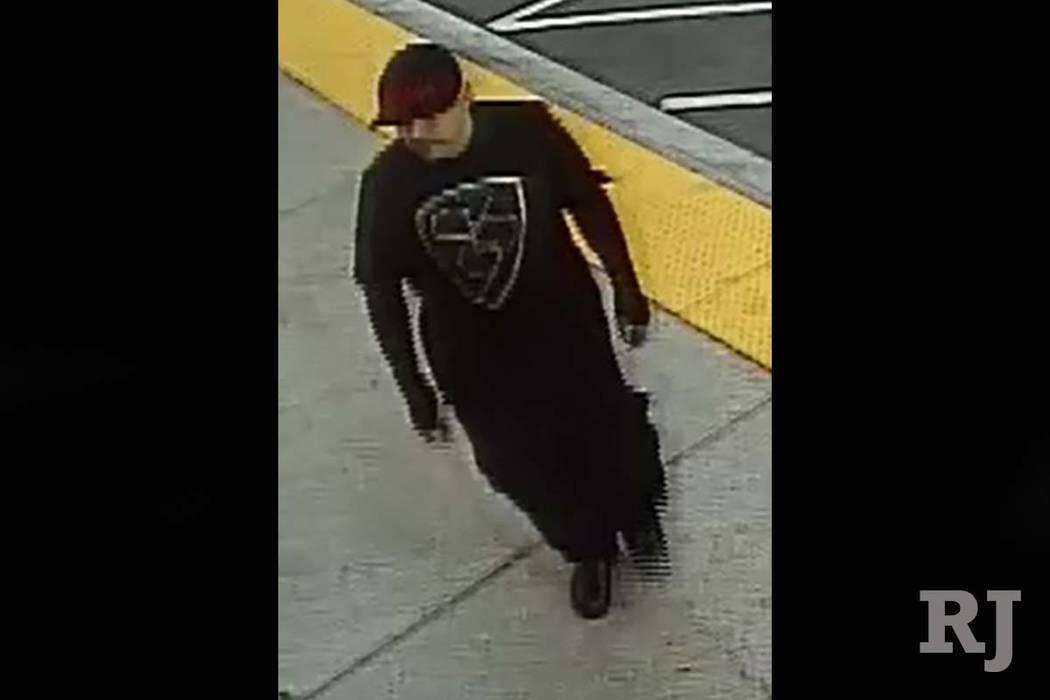 Suspect in armed robbery in May in west Las Vegas (Las Vegas Metropolitan Police Department)