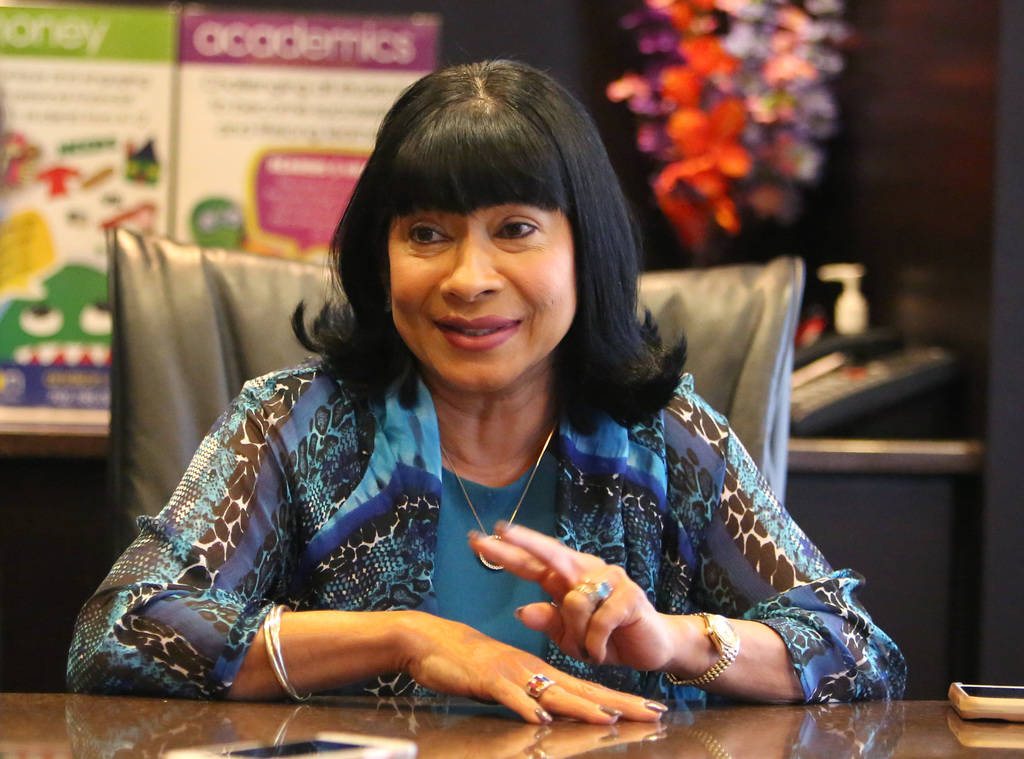 Sonia Anderson, founder and CEO OF Andson, Inc., speaks during an interview with the Las Vegas Review-Journal at her Las Vegas office on Thursday, June 7, 2018. Bizuayehu Tesfaye/Las Vegas Review- ...