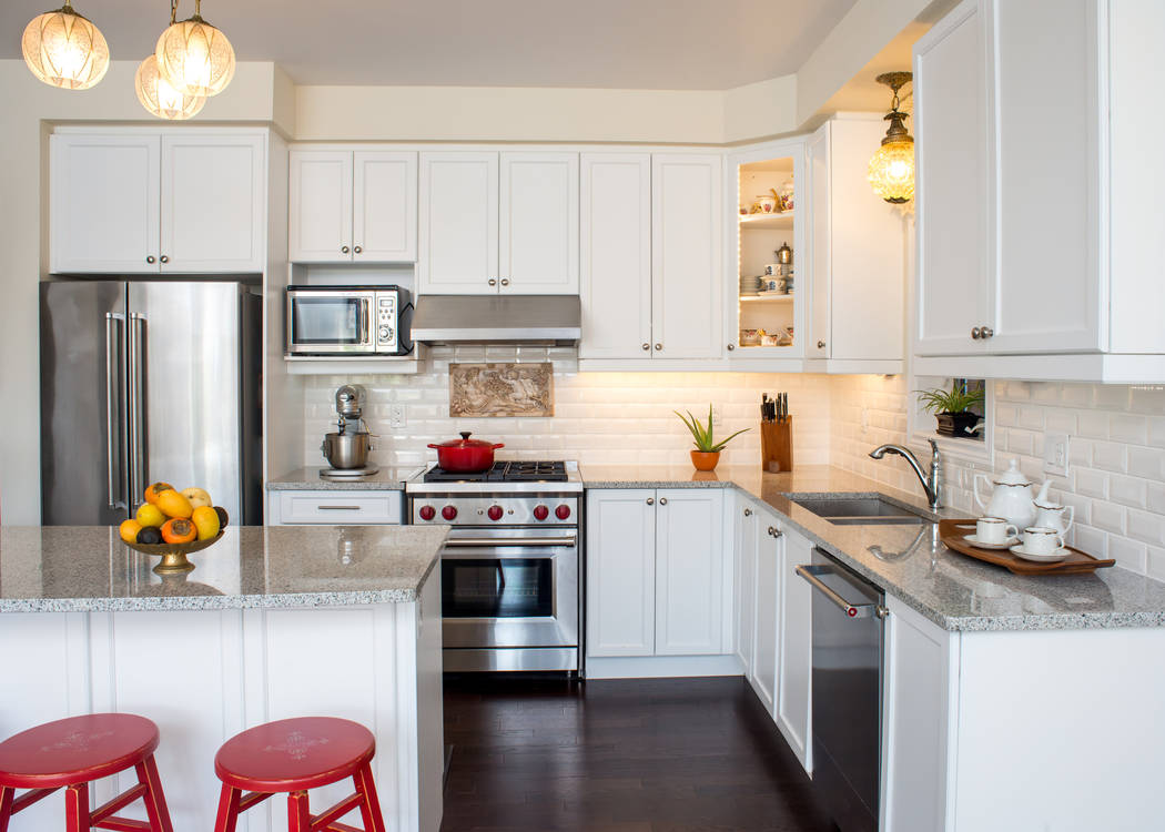 Thinkstock A stainless-steel appliance package can change the entire complexion of the kitchen.