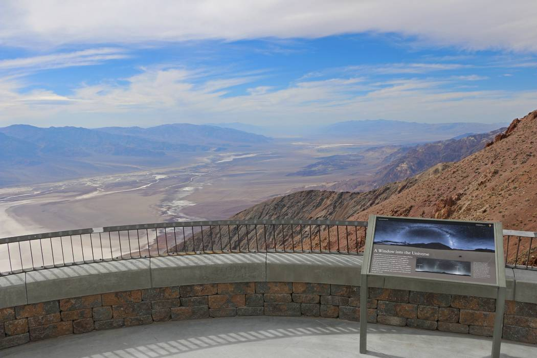 After four months of renovations, Dantes View at Death Valley National Park in California has reopened. The nonprofit Fund For People In Parks helped pay for about half of the more than $600,000 r ...