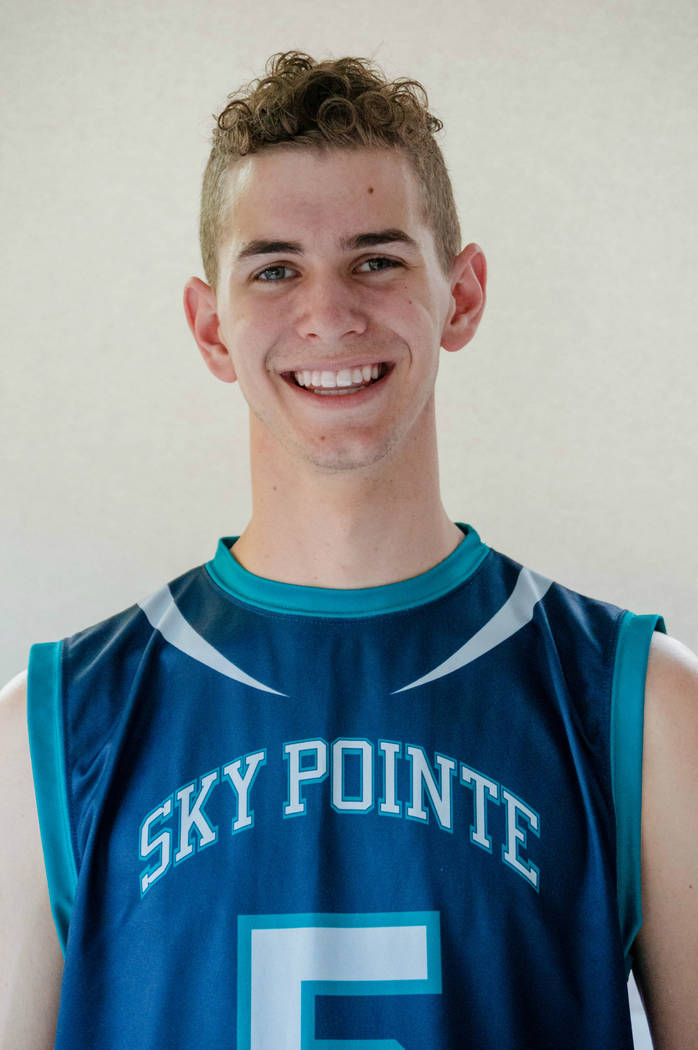Sky Pointe's Carson Driscoll is a member of the Las Vegas Review-Journal's all-state boys volleyball team.