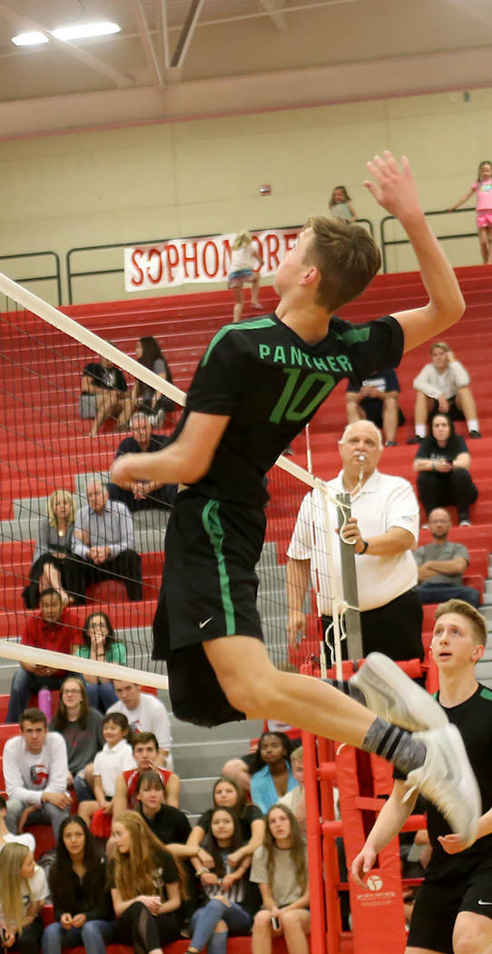 Palo Verde's Jared Brady is a member of the Las Vegas Review-Journal's all-state boys volleyball team.
