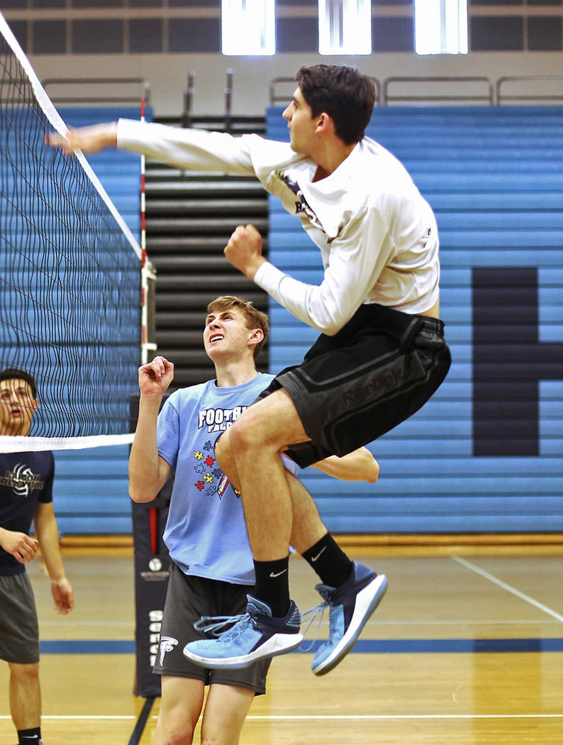 Foothill's Truss Erb is a member of the Las Vegas Review-Journal's all-state boys volleyball team.