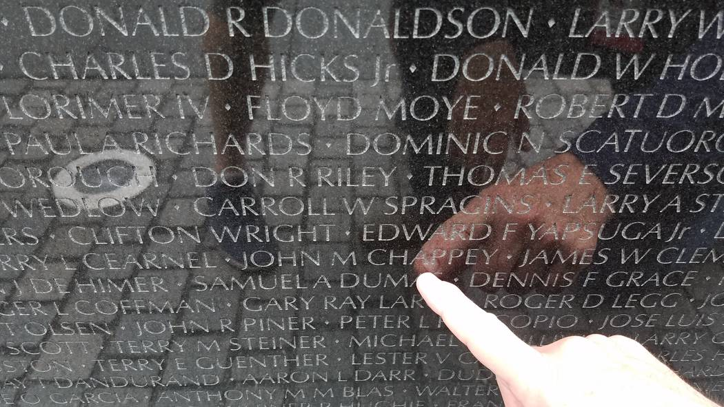 Visiting the Vietnam Veterans Memorial in Washington, D.C., can be a sobering experience. (Ron Kantowski)