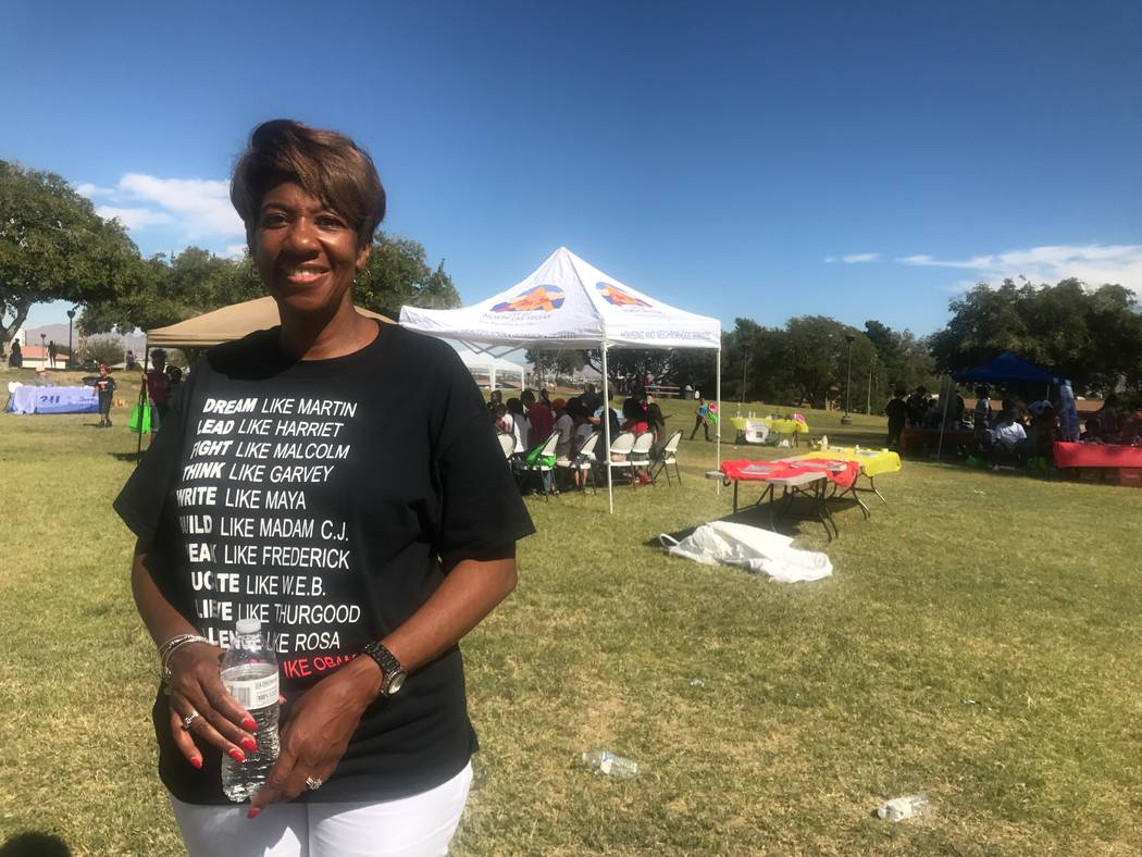 Councilwoman Pamela Goynes-Brown poses for a portrait at the Reading Rainbow event on Oct. 7, 2017 at Valley View Park, 2000 Bennett Street. (Kailyn Brown/View) @KailynHype