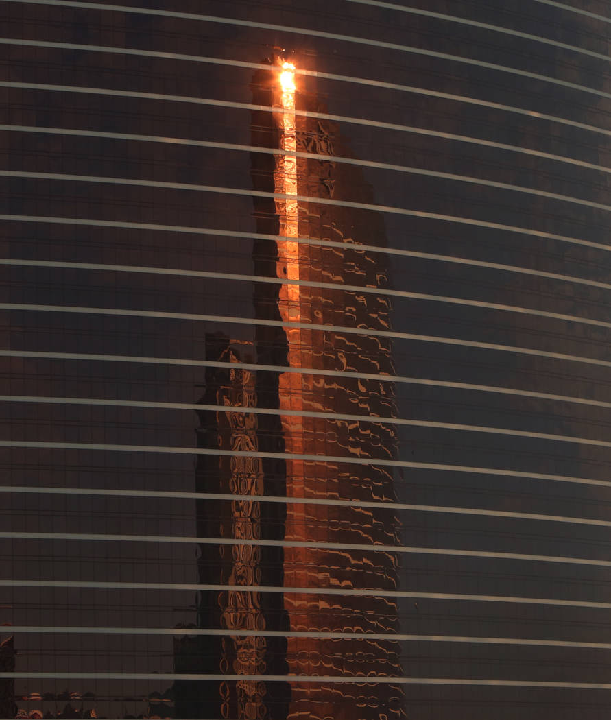 Wynn hotel-casino photographed on Thursday, April 5, 2018, in Las Vegas. Bizuayehu Tesfaye/Las Vegas Review-Journal @bizutesfaye