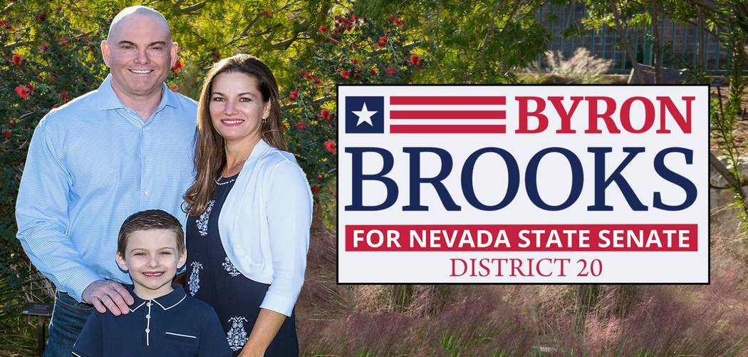 Byron Brooks photo taken from his campaign website.