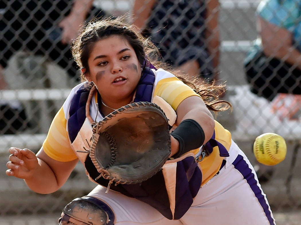 Durango's Alexis Geraldo is a member of the Las Vegas Review-Journal's all-state softball team.