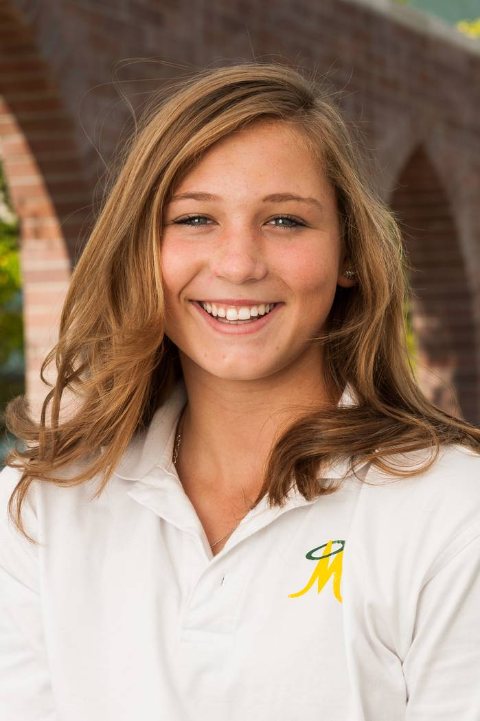 Bishop Manogue's Hailey Merlino is a member of the Las Vegas Review-Journal's all-state softball team.