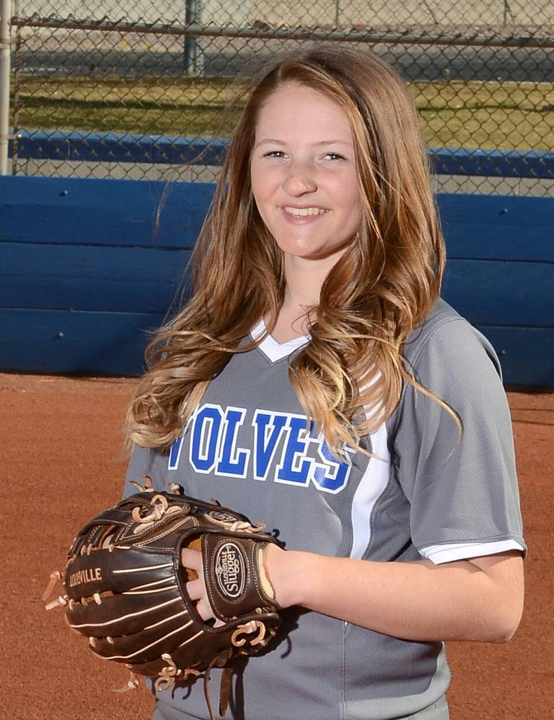 Basic's Shelby Basso is a member of the Las Vegas Review-Journal's all-state softball team.