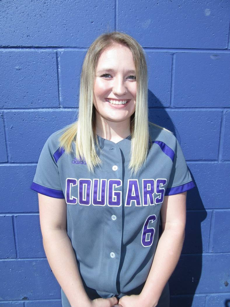 Spanish Springs' Katelyn Townsend is a member of the Las Vegas Review-Journal's all-state softball team.