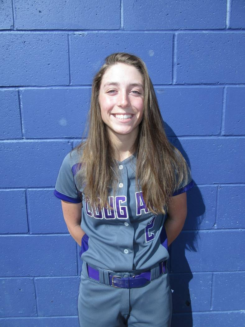 Spanish Springs' Rylee Retzer is a member of the Las Vegas Review-Journal's all-state softball team.