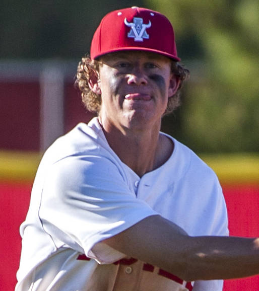 Arbor View's Austin Pfeifer is a member of the Las Vegas Review-Journal's all-state baeball team.