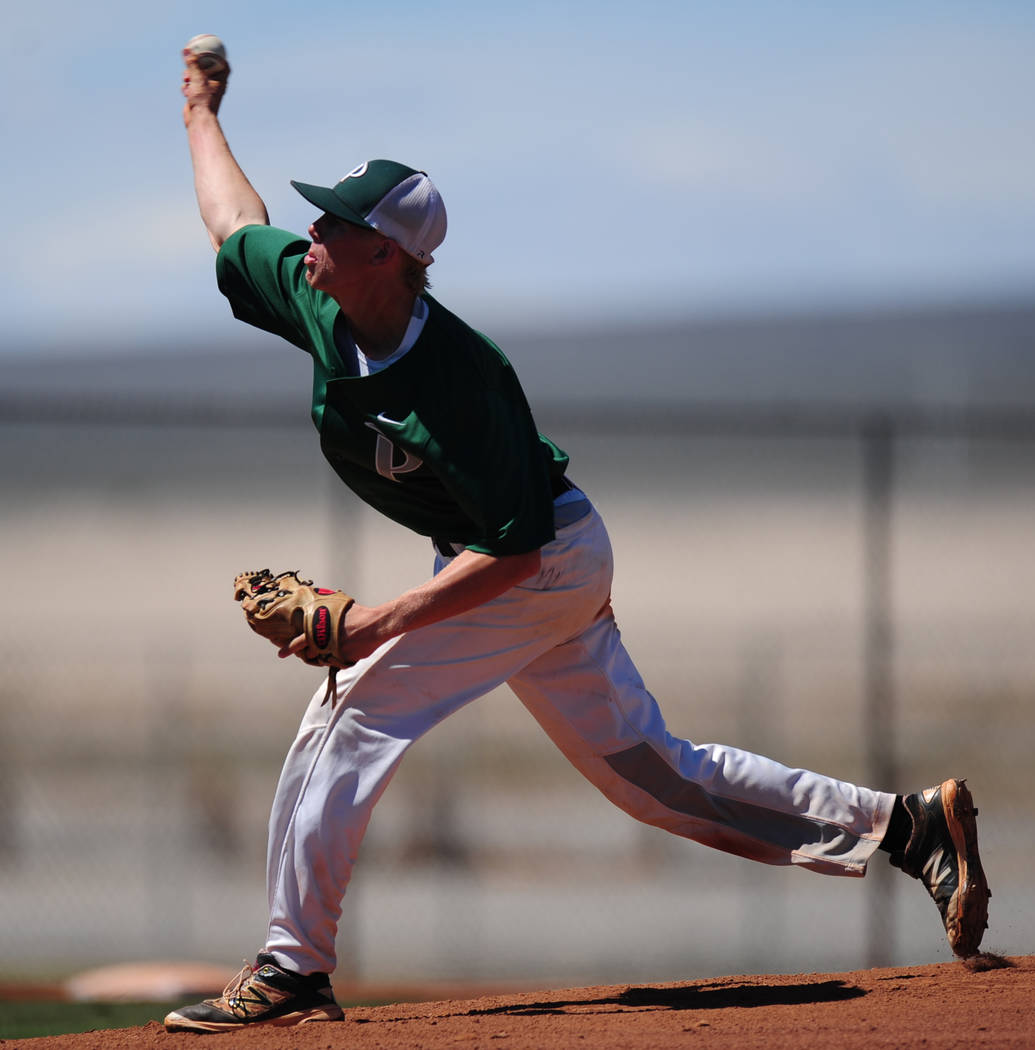 Palo Verde's Bryce Robison is a member of the Las Vegas Review-Journal's all-state baseball team.
