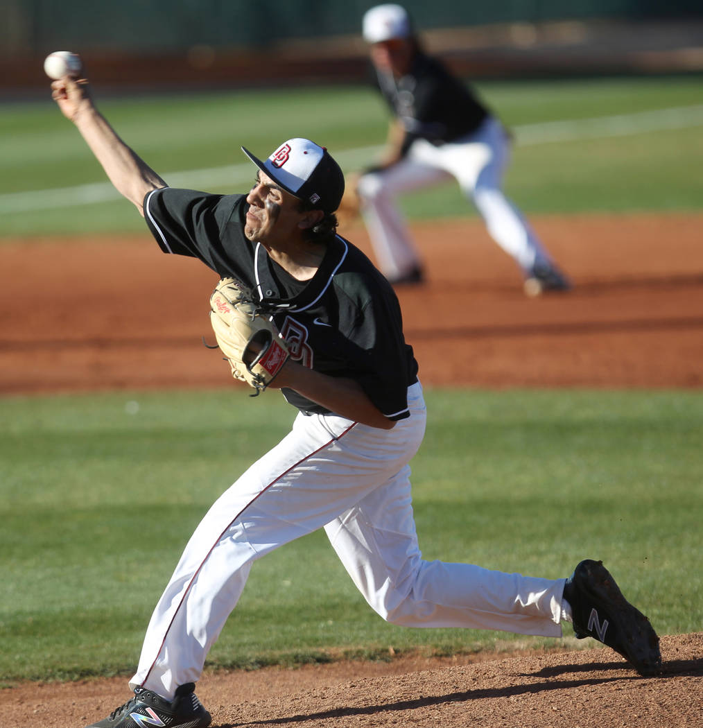Desert Oasis' Izzy Gutierrez is a member of the Las Vegas Review-Journal's all-state baseball team.