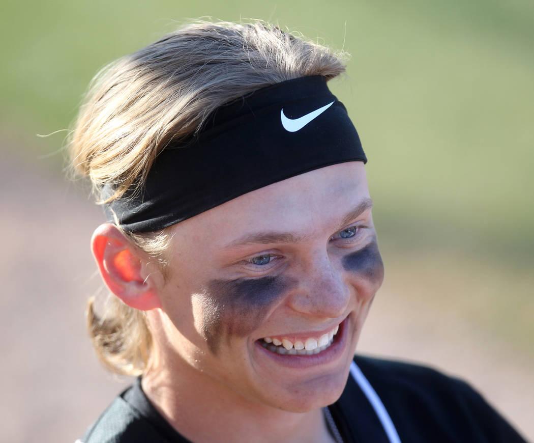 Desert Oasis' Parker Schmidt is a member of the Las Vegas Review-Journal's all-state baseball team.