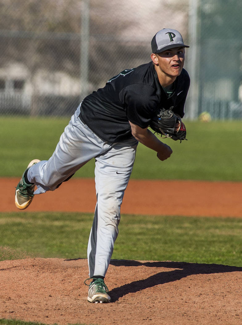 Palo Verde's Peyton Cole is a member of the Las Vegas Review-Journal's all-state baseball team.