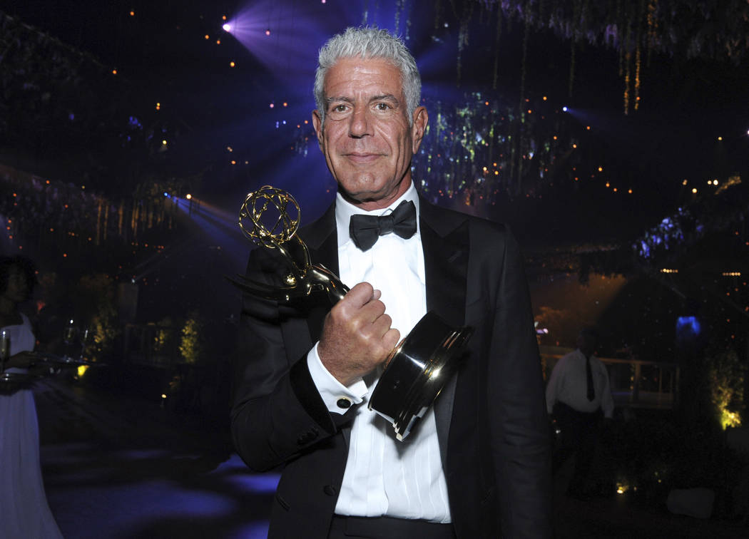 Celebrity chef, author, TV food show host Anthony Bourdain dead at 61