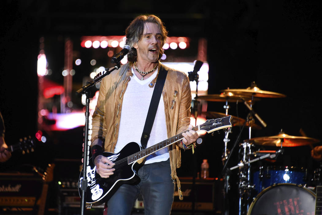 Rick Springfield performs at Magic City Casino on Saturday, April 14, 2018 in Miami, Fla. (Photo by Michele Eve Sandberg/Invision/AP)