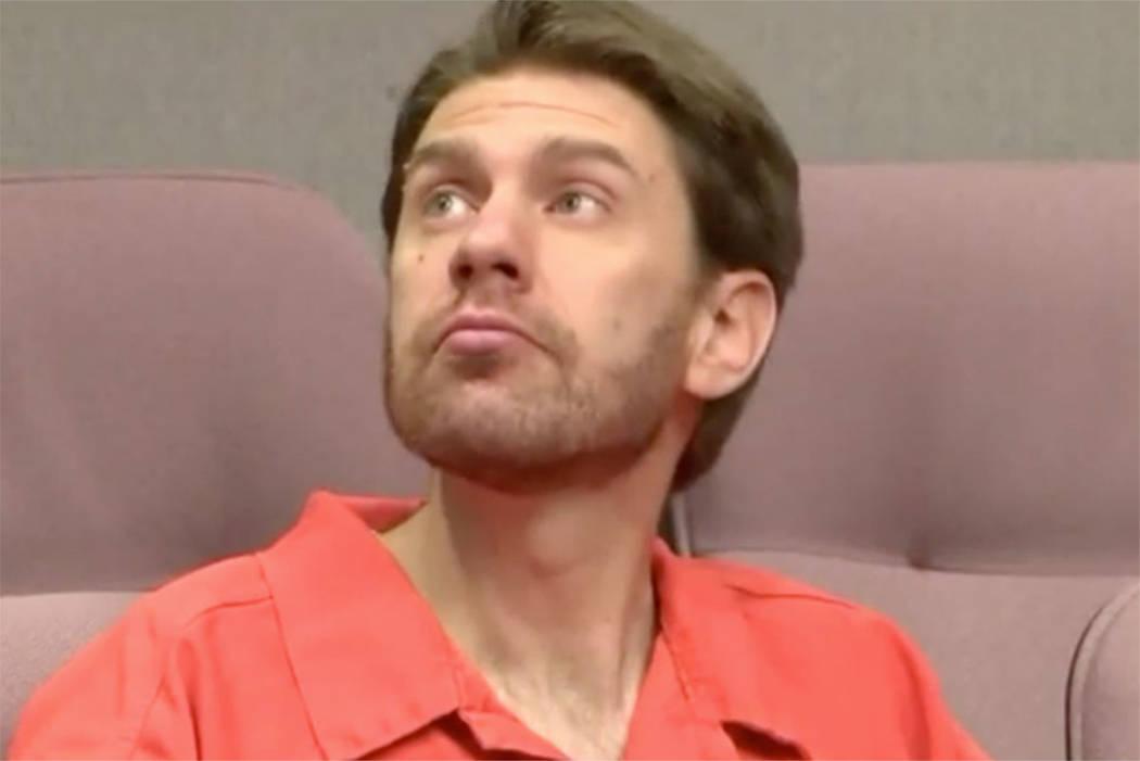 Samuel W. Shaffer, 34, seen in a Utah courtroom in February (screengrab from KSTU - Salt Lake City via Inform)