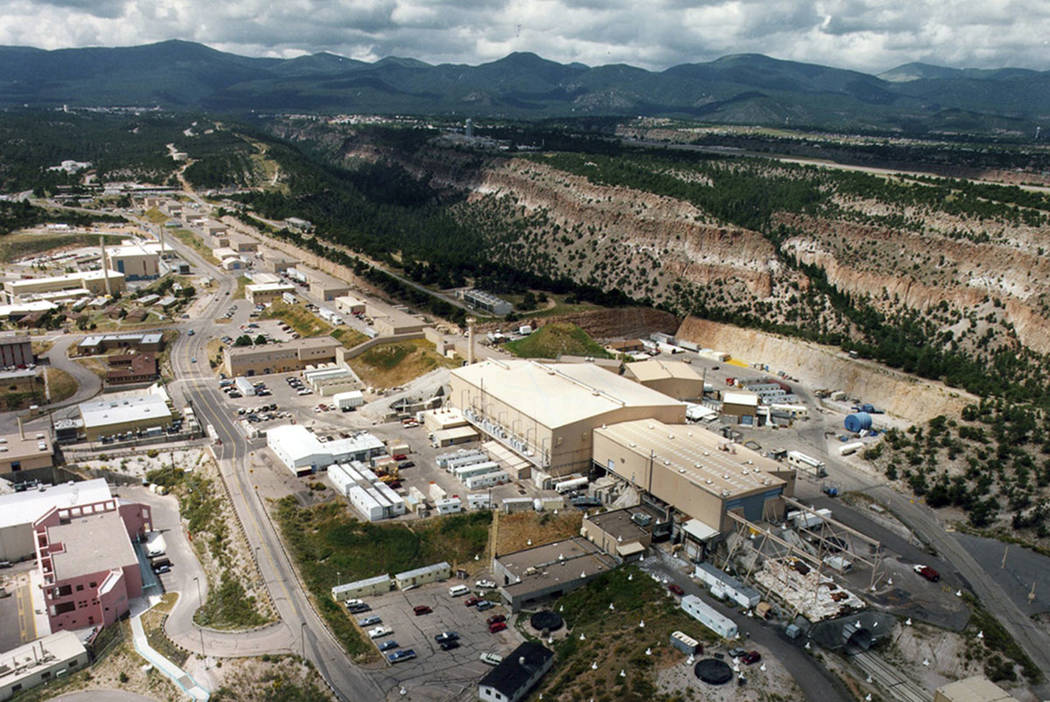 The Los Alamos National laboratory is seen in Los Alamos, N.M. (The Albuquerque Journal via AP, File)