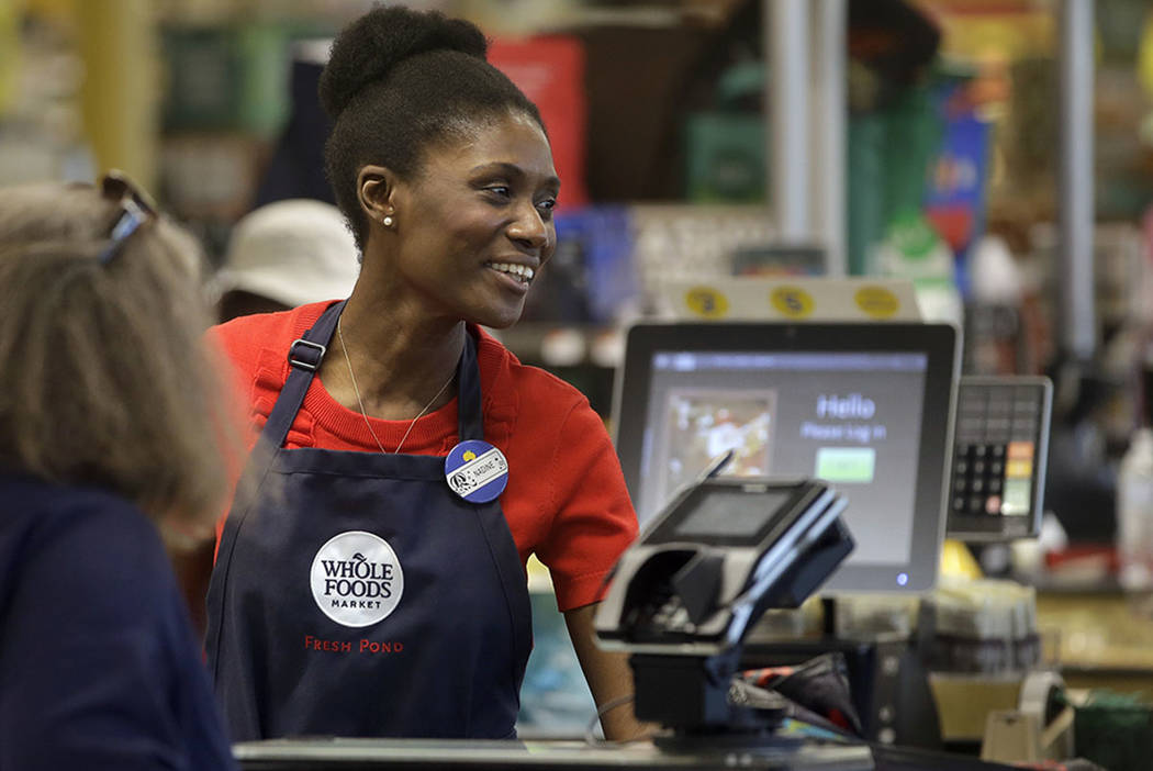 Haitian Immigrant Nadine Vixama Works As A Cashier At A Whole Foods In  Cambridge, Mass
