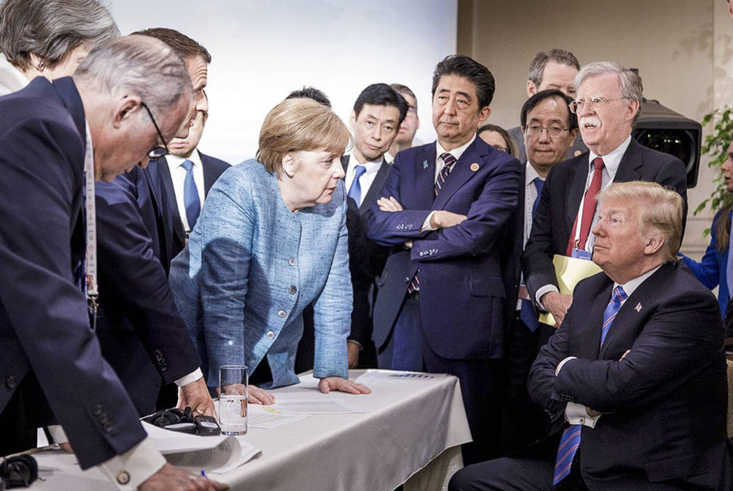 Merkel disappointed by Trump's u-turn on G7 statement Europe 09:35