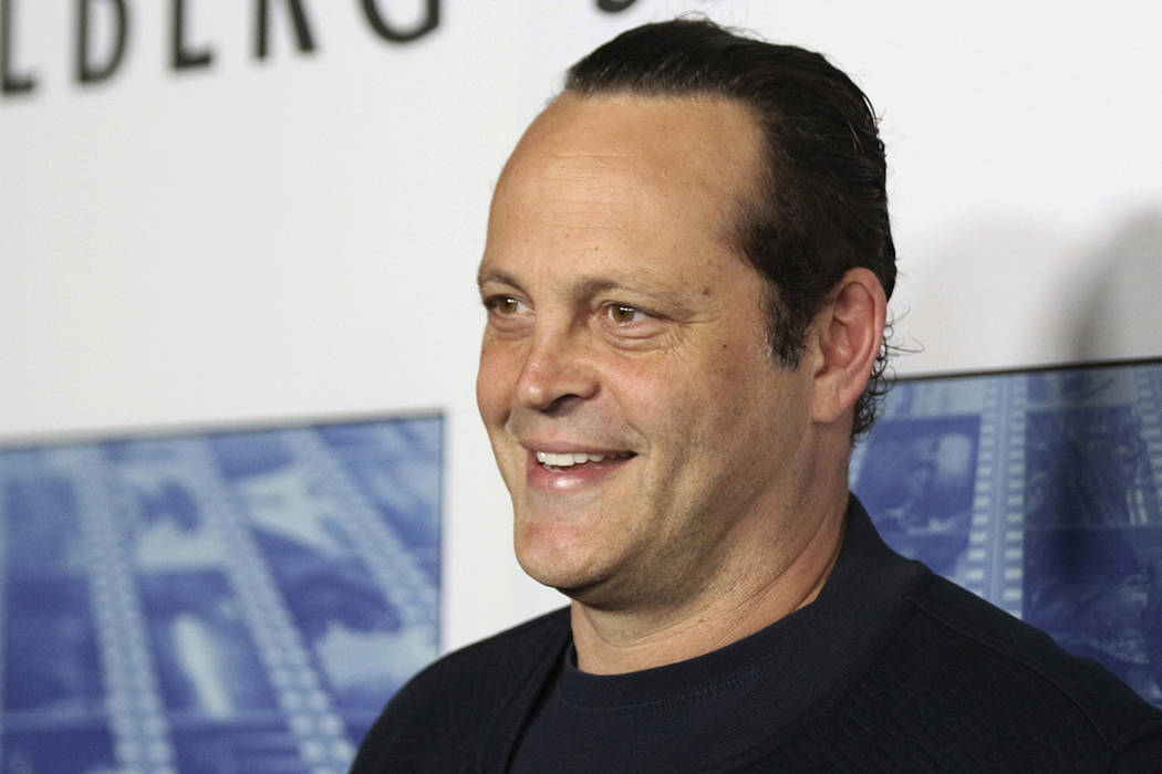 """Actor Vince Vaughn arrives at the Los Angeles premiere of """"Spielberg"""" at Paramount Studios in Los Angeles on Sept. 26, 2017. Police say actor Vaughn was arrested on suspicion of drunken driving an ..."""