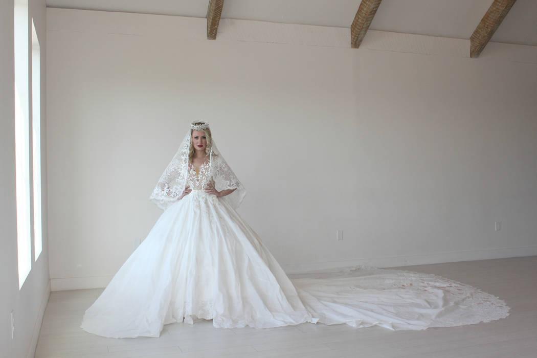 Las Vegan a finalist in toilet paper wedding dress contest – Las ...